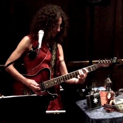 Music of Jen Ambrose on electric guitar