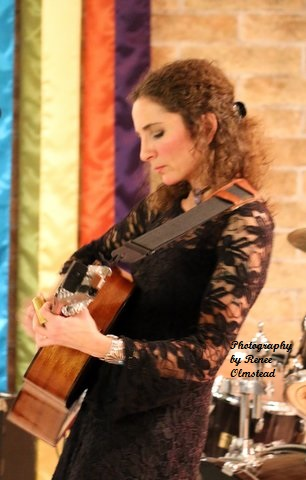 Music of Jen Ambrose on acoustic guitar
